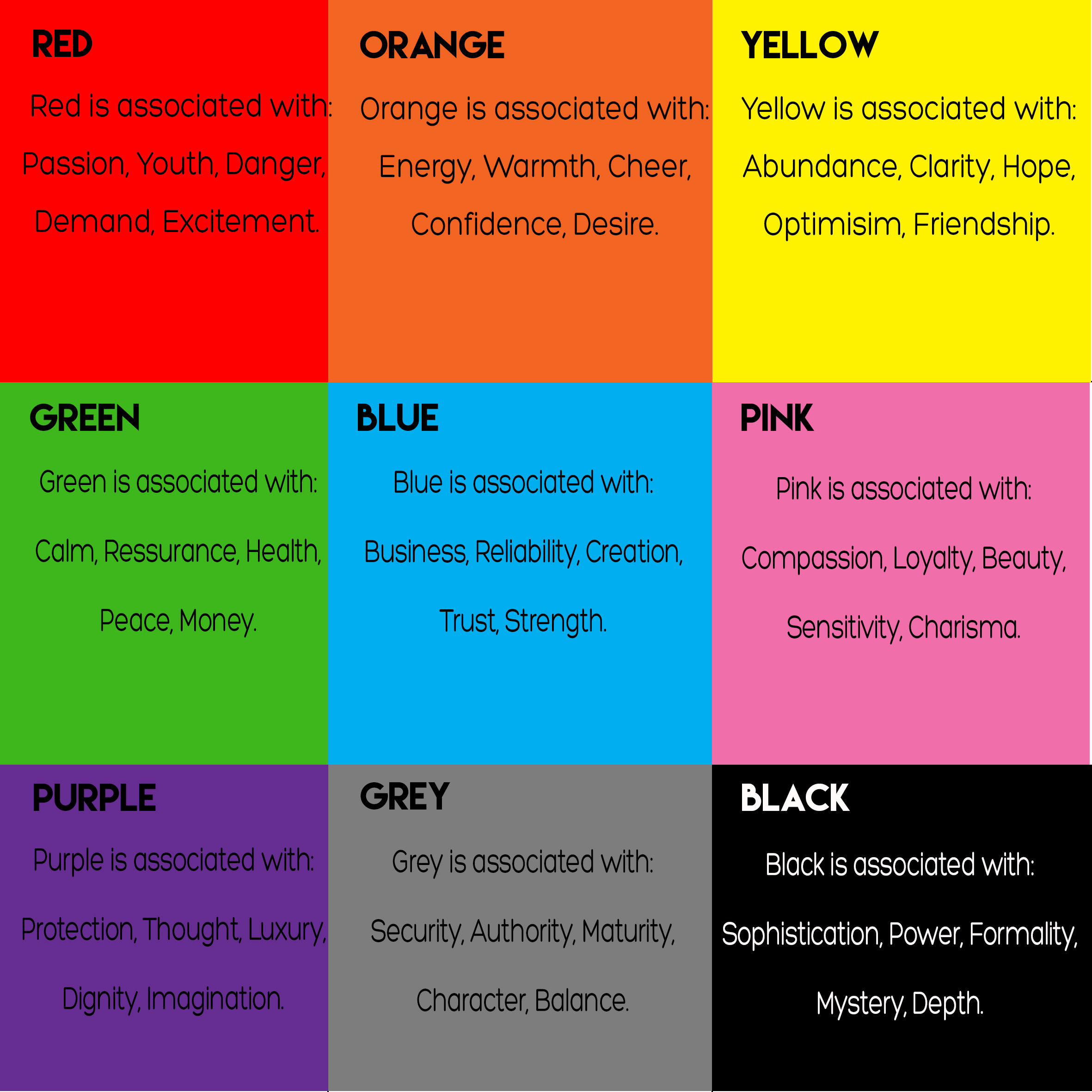 Color Meanings Ui Ux Principle 29 Color Has Meaning