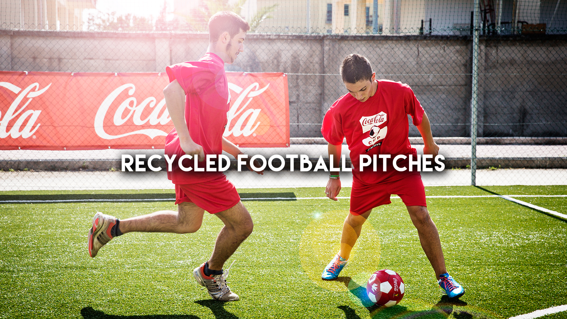 Recycled Football Pitches