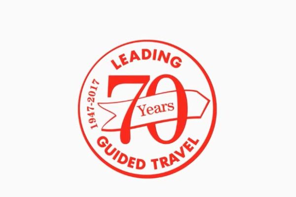 Trafalgar Travel 70 Years Logo
