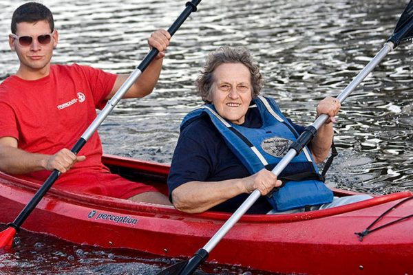 Intergenerational Kayaking