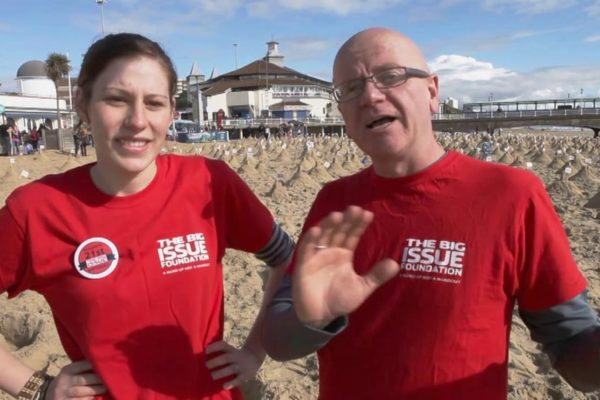 The Big Issue Foundation Sandcastles Event