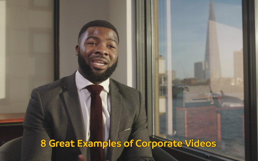 8 Great Examples of Corporate Videos