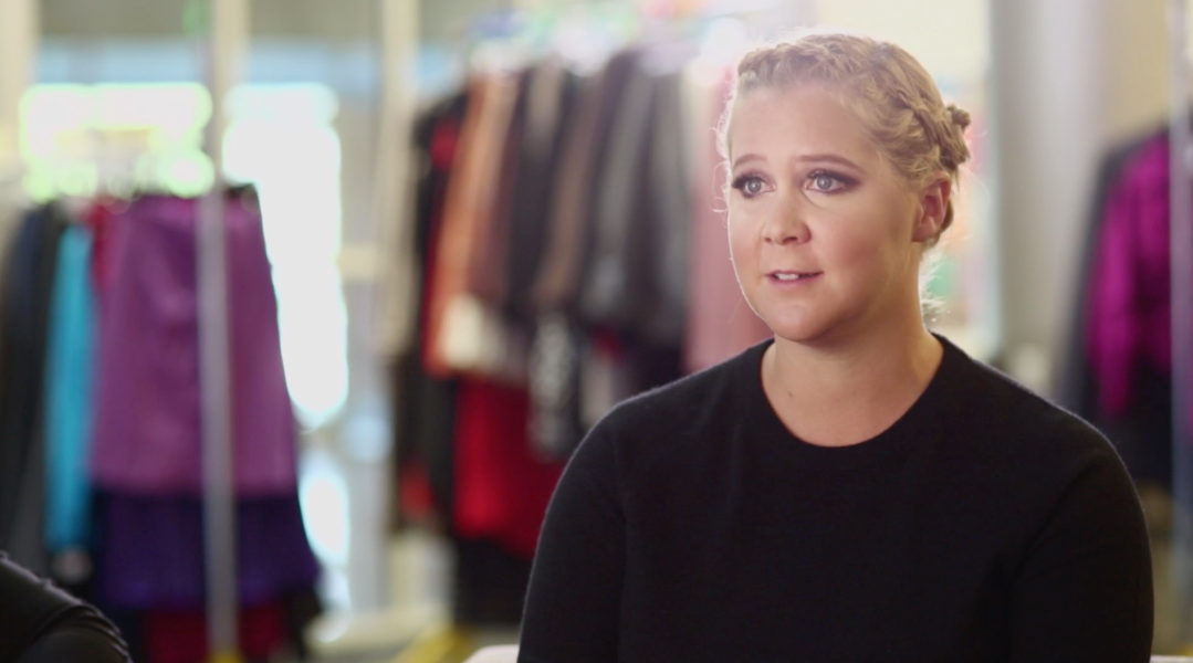 Amy Schumer giving an interview for stylist by Bold Content