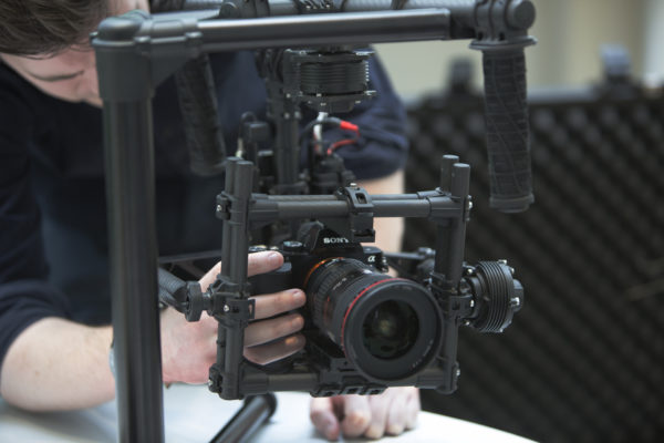 Gimbal Camera Stabilisation System