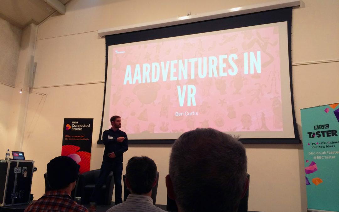 Exploring VR Festival at BBC Connected Studios