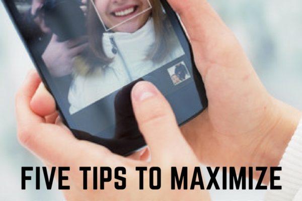 FIVE TIPS TO MAXIMIZE SOCIAL MEDIA REACH