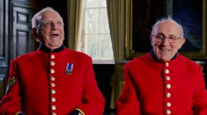 Chelsea Pensioners Telling Jokes