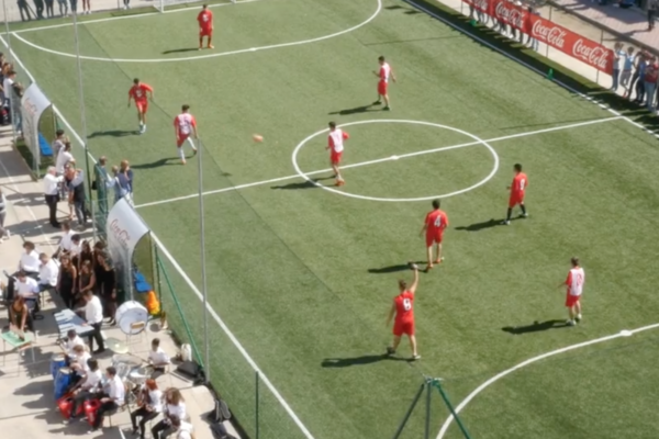 Coca-Cola Recycled Football Pitch