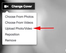 Make A Facebook Cover Video Step 4
