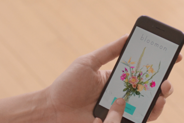Bloomon app on a phone