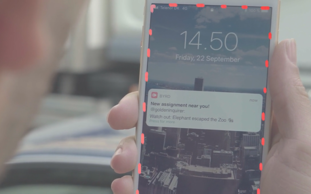 Case Study: Promo Video for News App 'Byrd'