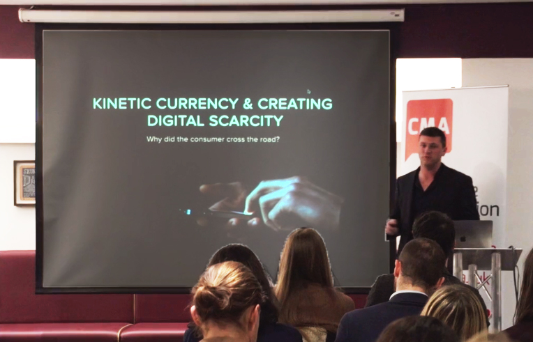 Seth Jackson CEO Of Landmrk Explains How To Create Digital Scarcity At CMA Digital Breakfast