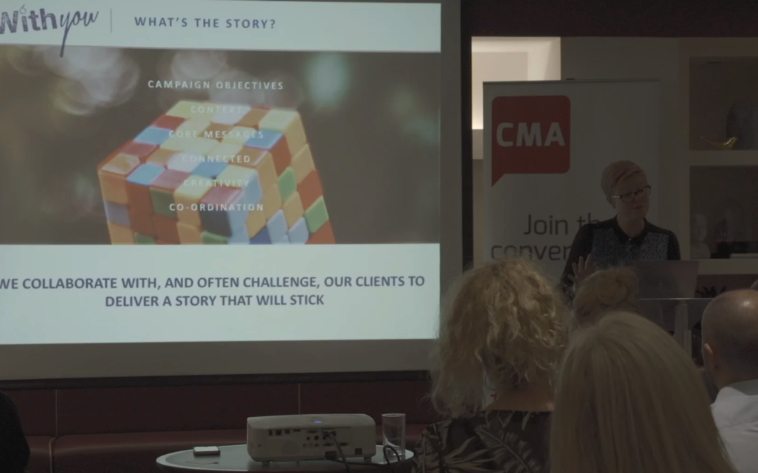 The Key to Good PR: Debbie Zaman Founder of Withpr Explains at CMA Digital Breakfast [VIDEO]