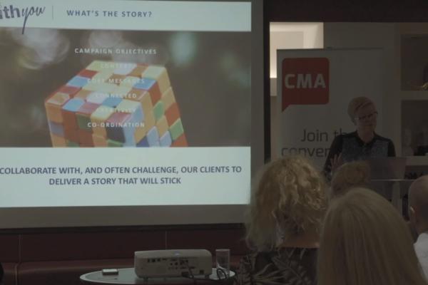 Presenter at the CMA Digital Breakfast