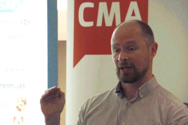 Sysomos CMA digital breakfast presenter