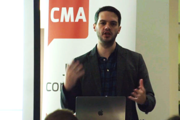 Presenter at the CMA Digital Breakfast