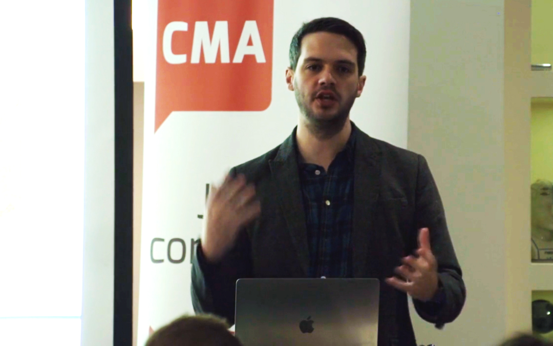 What AI Means for Marketers – Alex Vaidya CEO of StoryStream at CMA's Digital Breakfast [VIDEO]