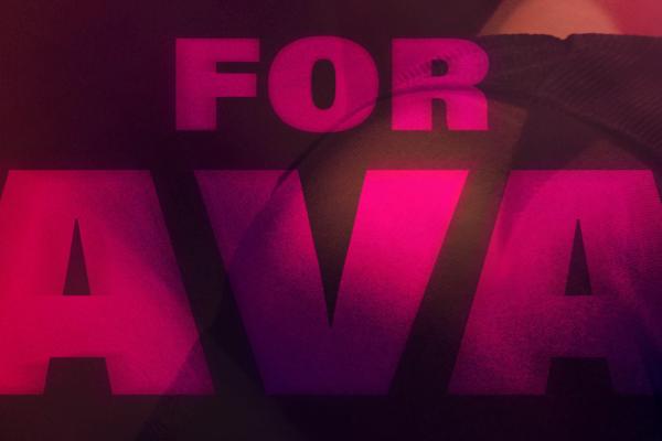 For Ava title logo