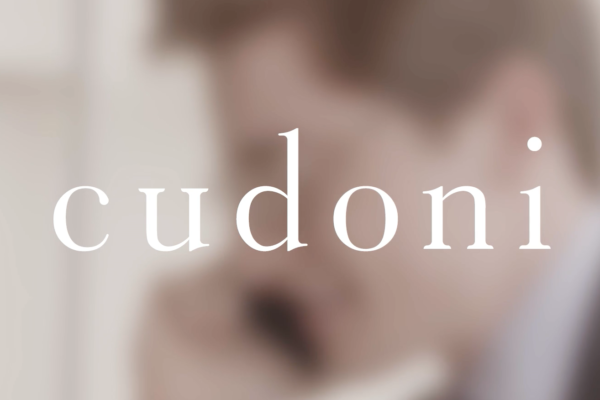 Cudoni logo on a full screen