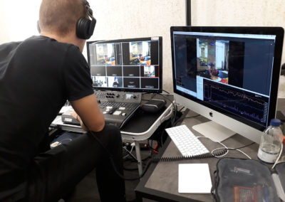 Live Streaming and vision mixing