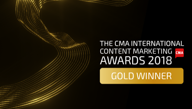 #BestManProject Wins Gold at International Content Marketing Awards
