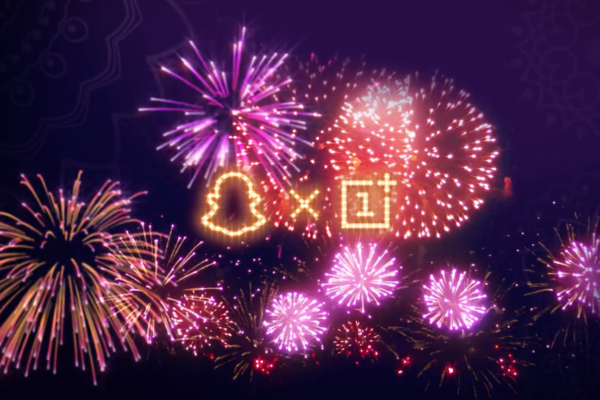 Snapchat oneplus fireworks