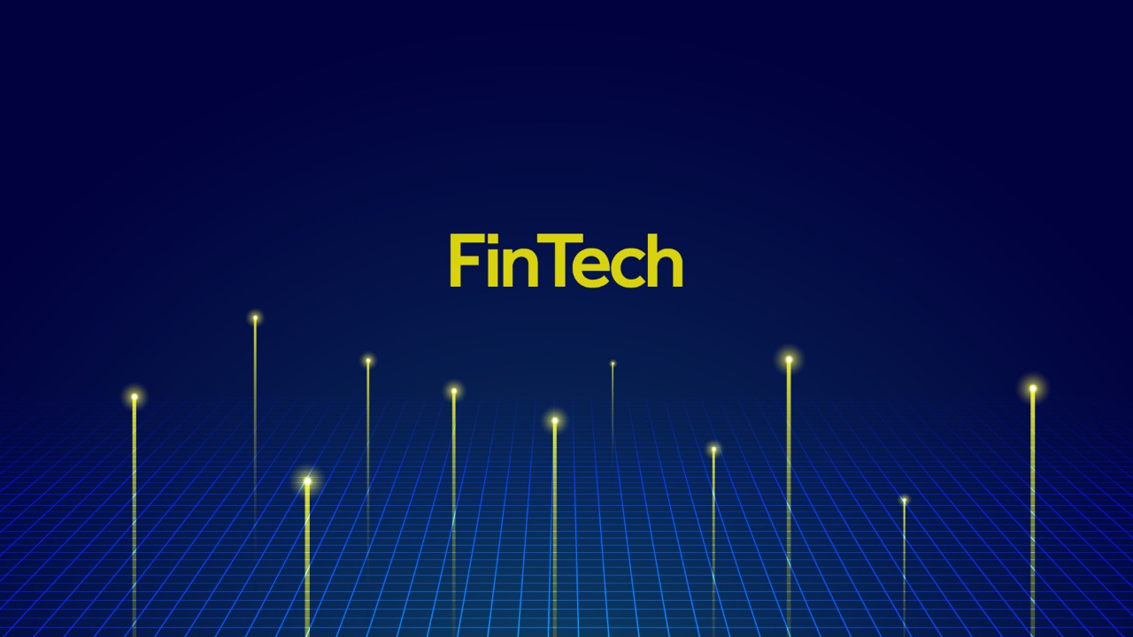 conceptual illustration of fintech