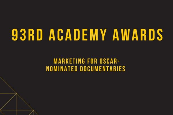 black and yellow text saying 93rd academy awards