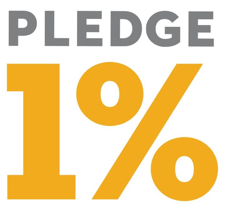 Press Release: Joining Pledge 1%